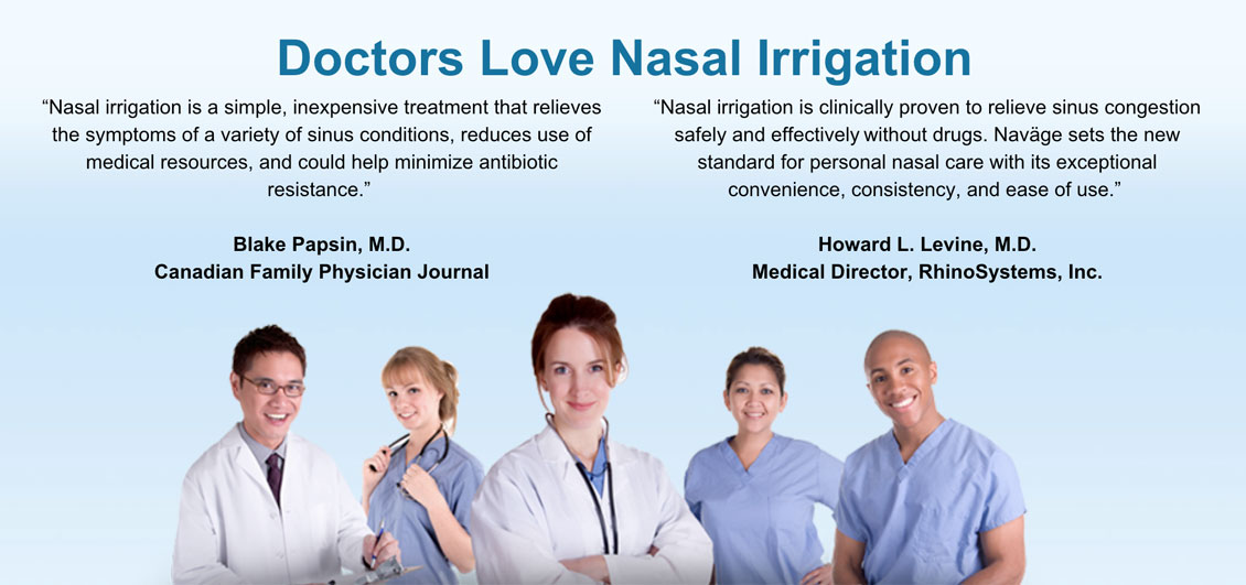 Doctors Love Nasal Irrigation